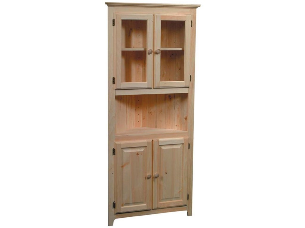 Archbold Furniture Pantries and CabinetsCorner Cabinet