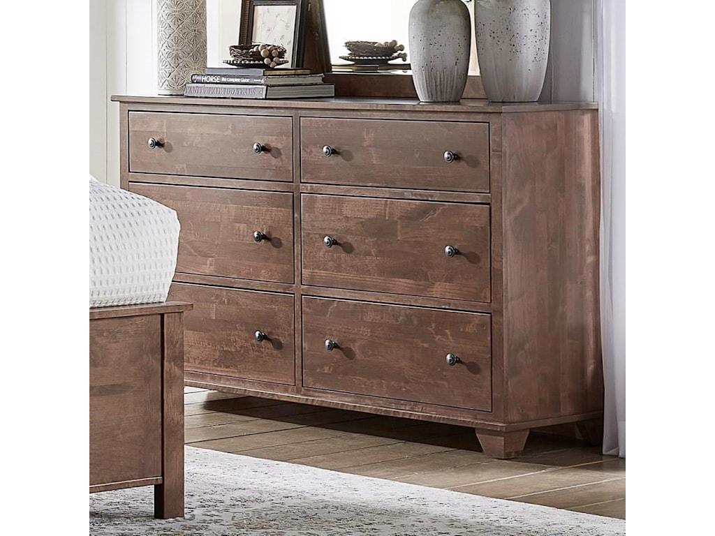 Archbold Furniture Portland 6 Drawer