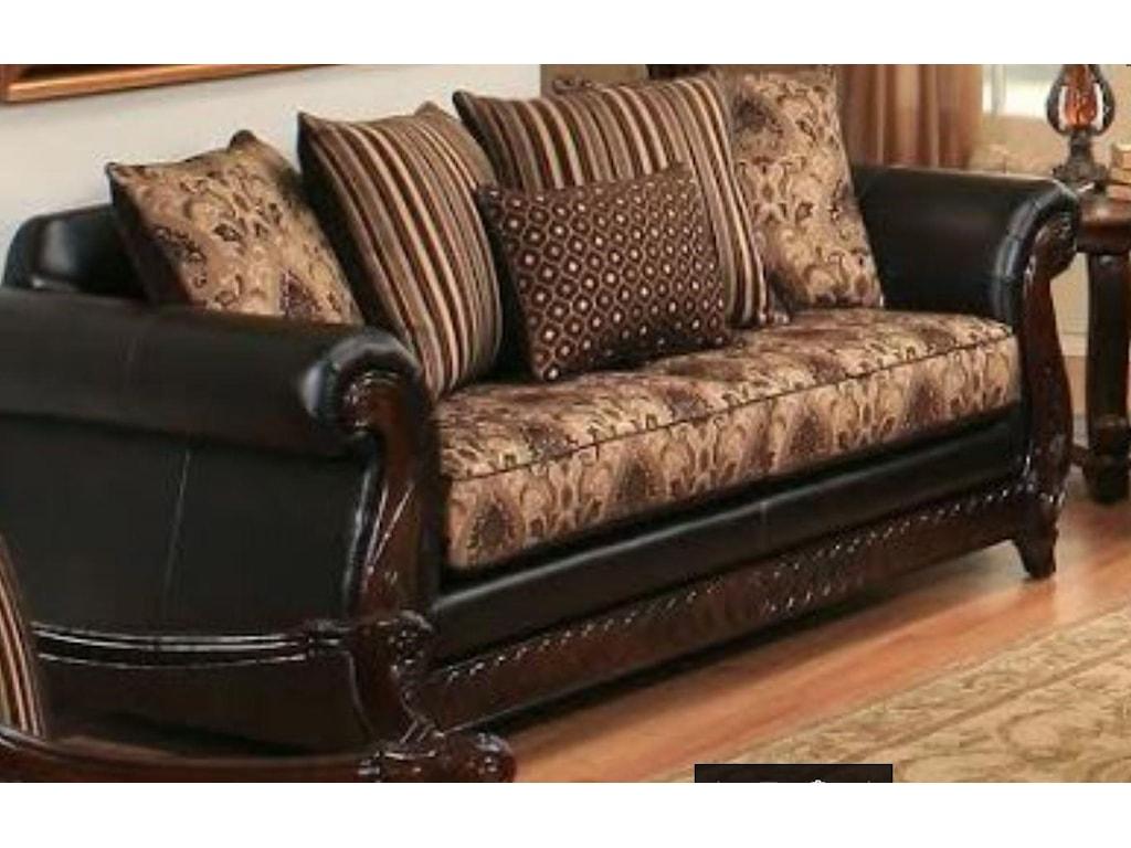 Montecristo Dundee Dark Brown Sofa
