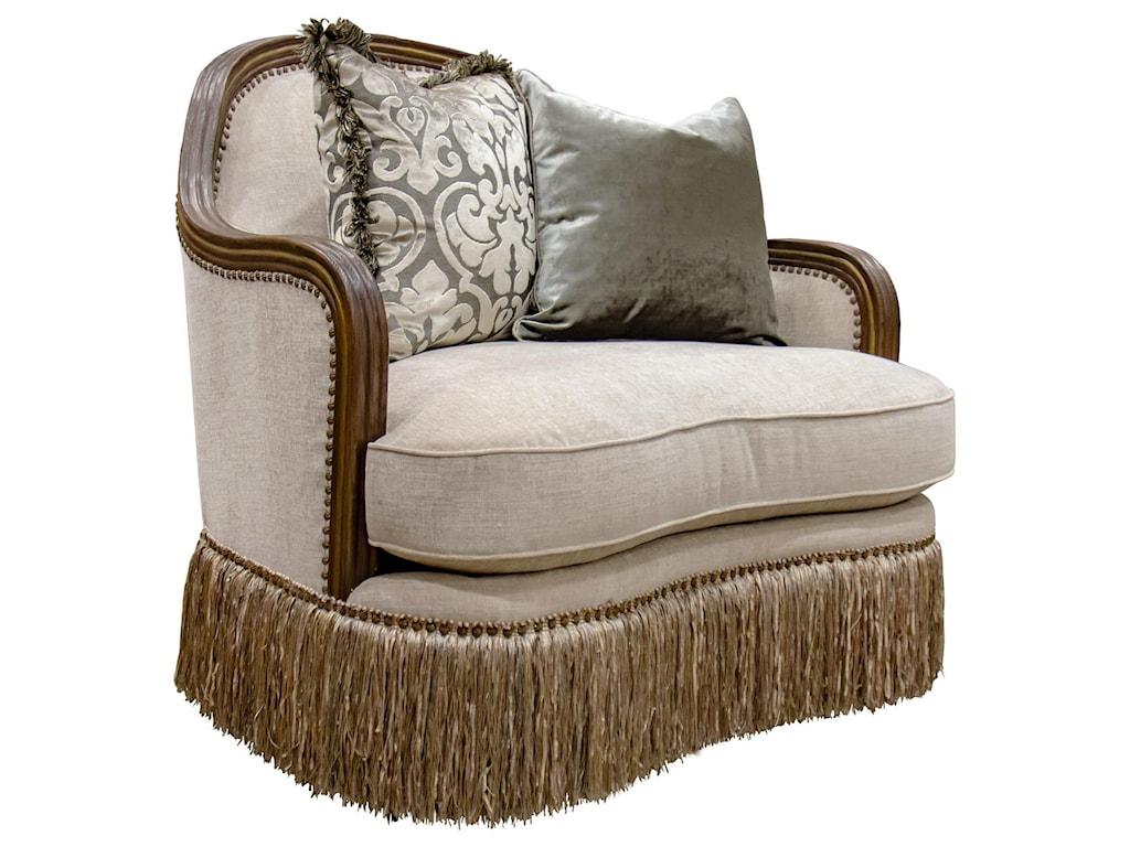 Aria Designs CarlottaParchment Chair