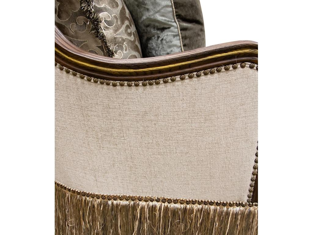Aria Designs CarlottaParchment Sofa