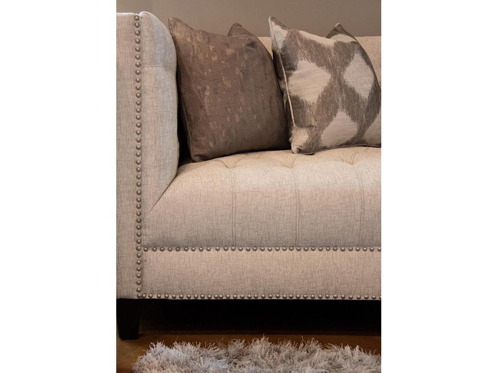 Aria Designs DanielleUpholstered Tufted Sofa