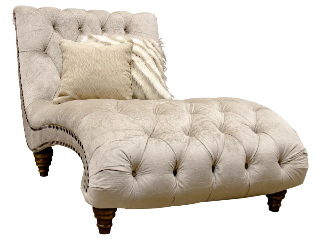 Aria Designs LorraineVerona Tufted Chaise