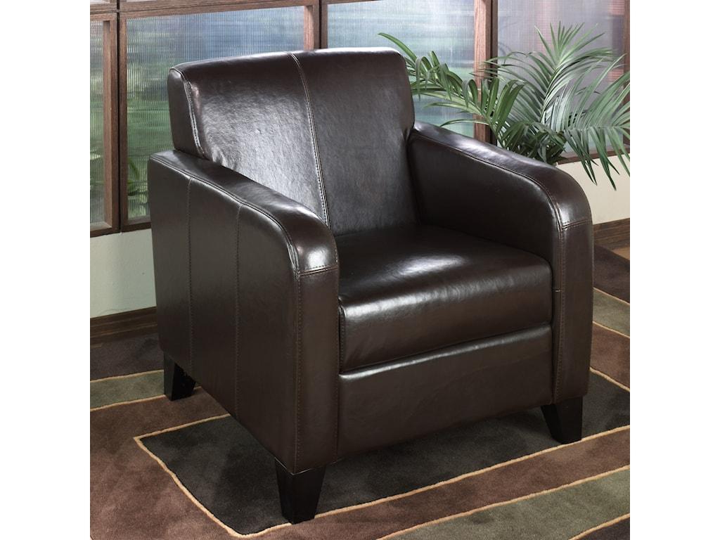 Armen Living 1400Club Chair