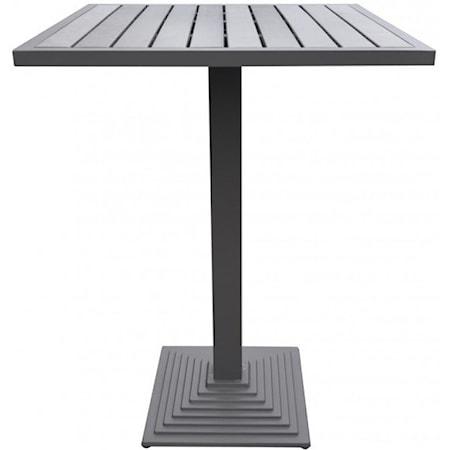 Outdoor Grey Patio Bar Table