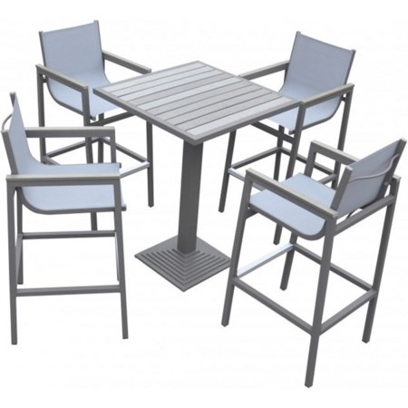 Outdoor 5-Piece Patio Set