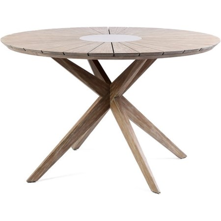 Outdoor Patio Eucalyptus Wood Dining Table
