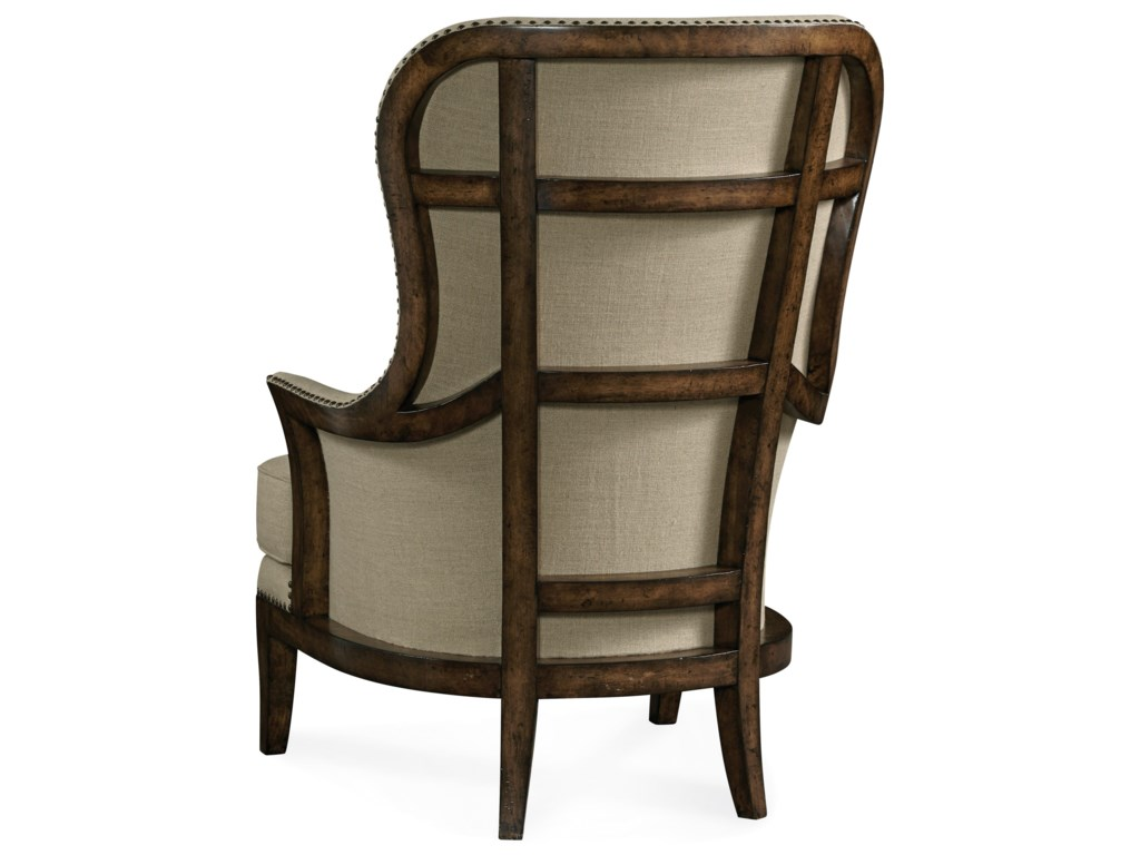 The Great Outdoors  Logan Exposed Wood-Back Accent Chair - Arroyo
