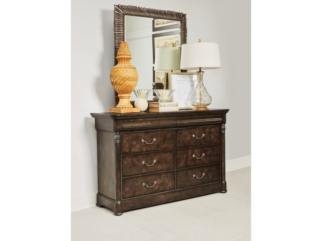 A.R.T. Furniture Inc LandmarkDresser and Mirror Combination