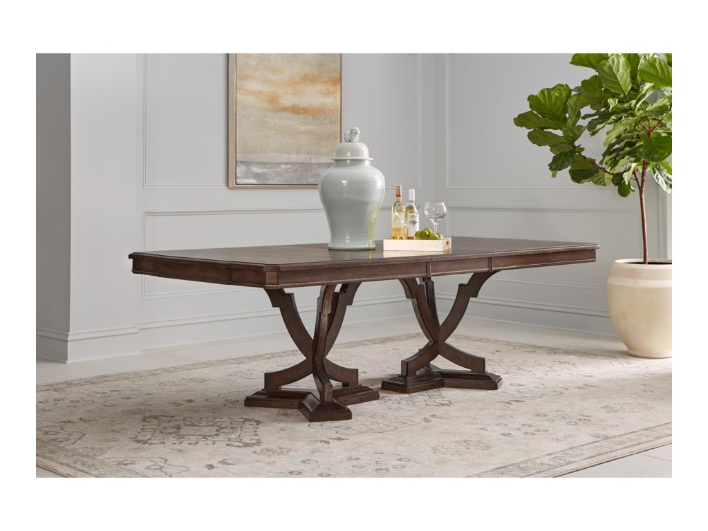 The Great Outdoors LandmarkDouble Pedestal Dining Table