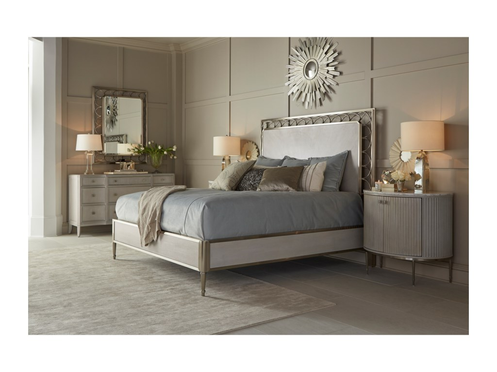A.R.T. Furniture Inc La ScalaCal King Bedroom Group