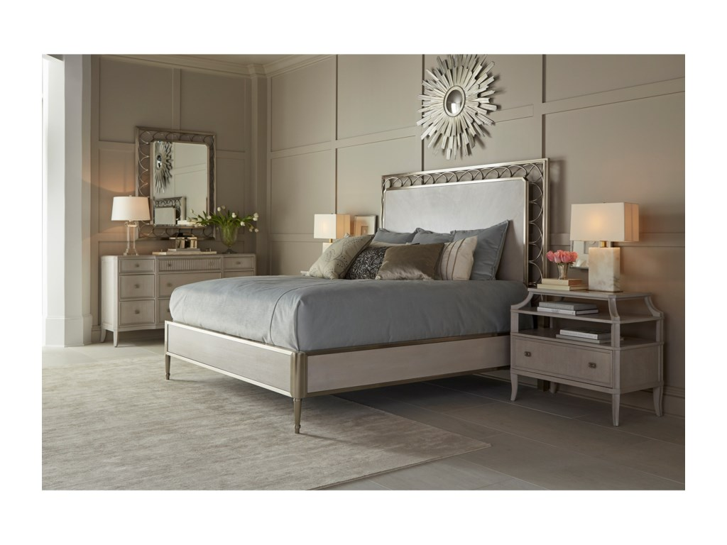 A.R.T. Furniture Inc La ScalaKing Bedroom Group