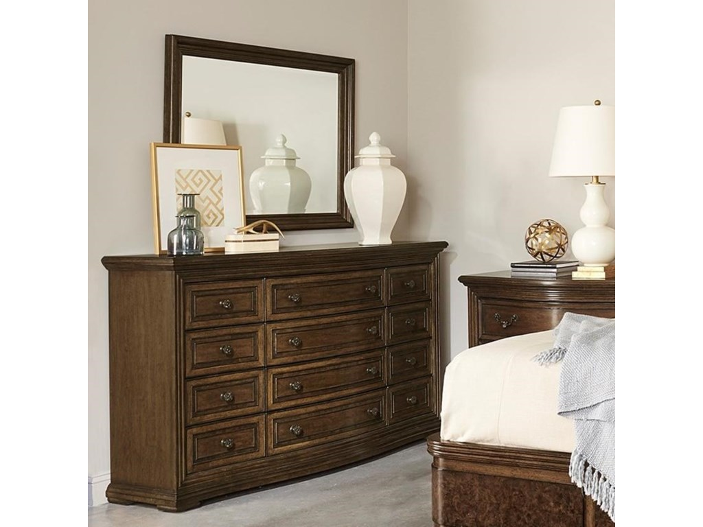 A.R.T. Furniture Inc 280 - Kingsport Dresser and Mirror Set