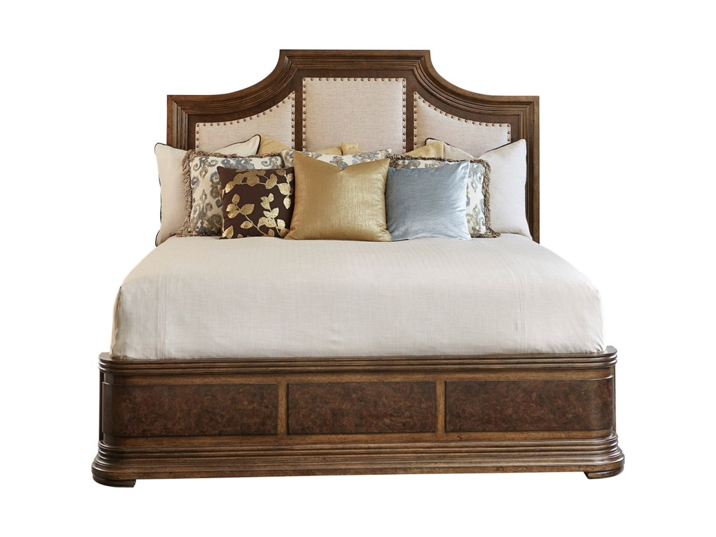 A.R.T. Furniture Inc 280 - Kingsport Queen Upholstered Panel Bed