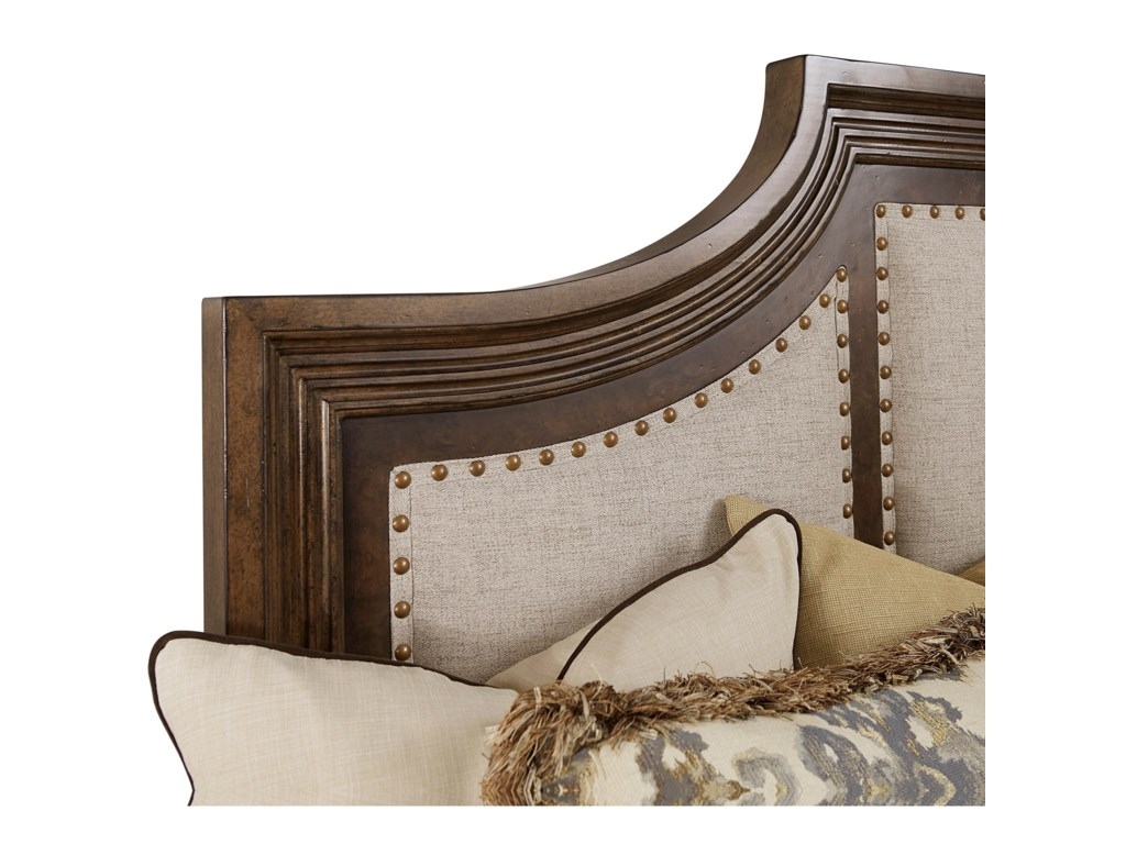 The Great Outdoors 280 - Kingsport King Upholstered Panel Bed