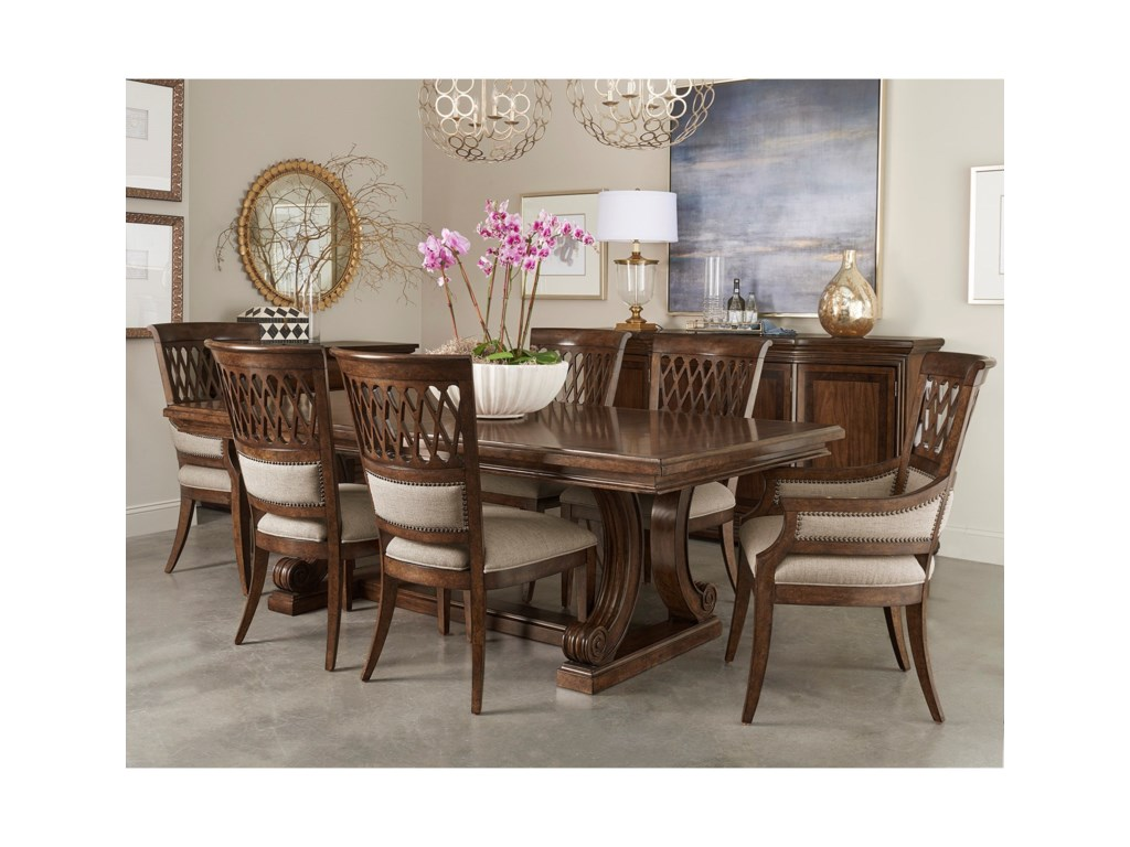A.R.T. Furniture Inc 280 - Kingsport Seven Piece Dining Set