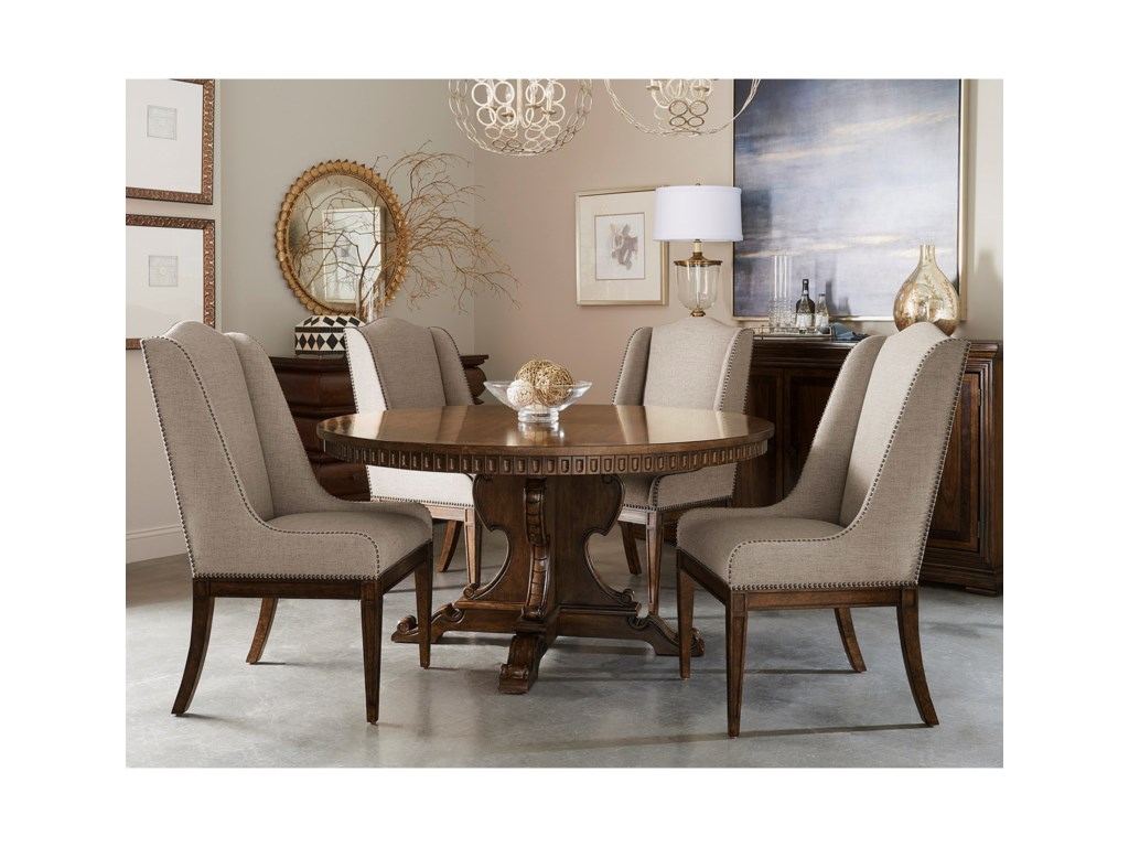 A.R.T. Furniture Inc 280 - Kingsport Five Piece Chair & Table Set