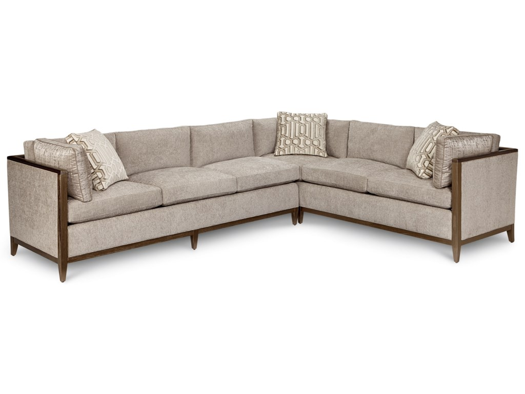 A.R.T. Furniture Inc Cityscapes UpholsteryAstor Crystal Sectional Sofa