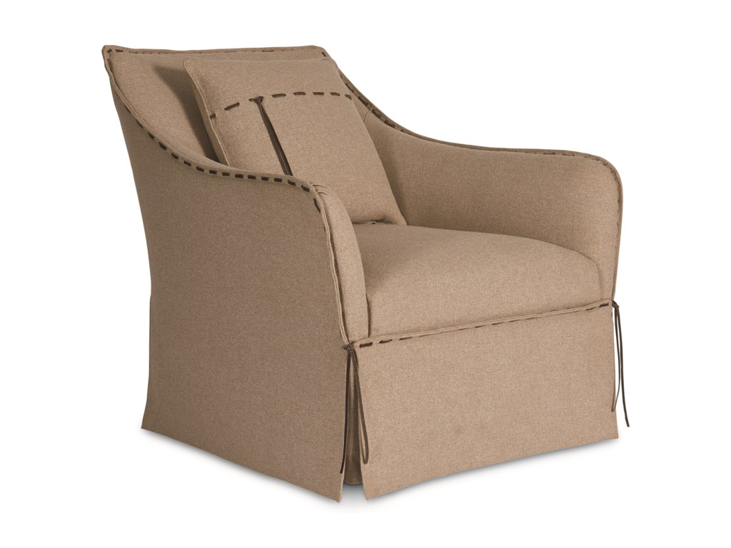 The Great Outdoors 547 - American Chapter Uph Tryon Swivel Chair