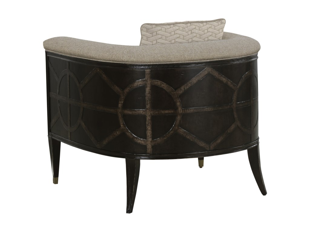 The Great Outdoors 547 - American Chapter Uph Timber Barrel Chair