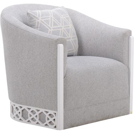 Summer Creek Uph - Hatteras Spa Swivel Chair