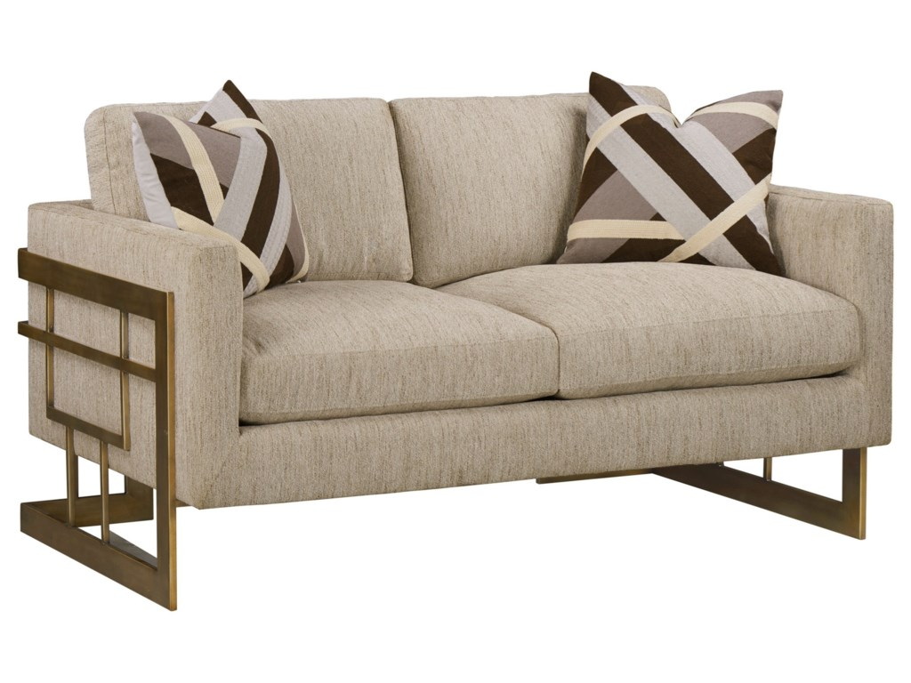 Compositions WoodWright UpholsteryLoveseat