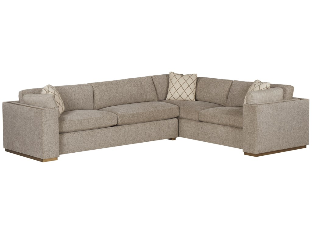 The Great Outdoors WoodWright UpholsterySectional Sofa