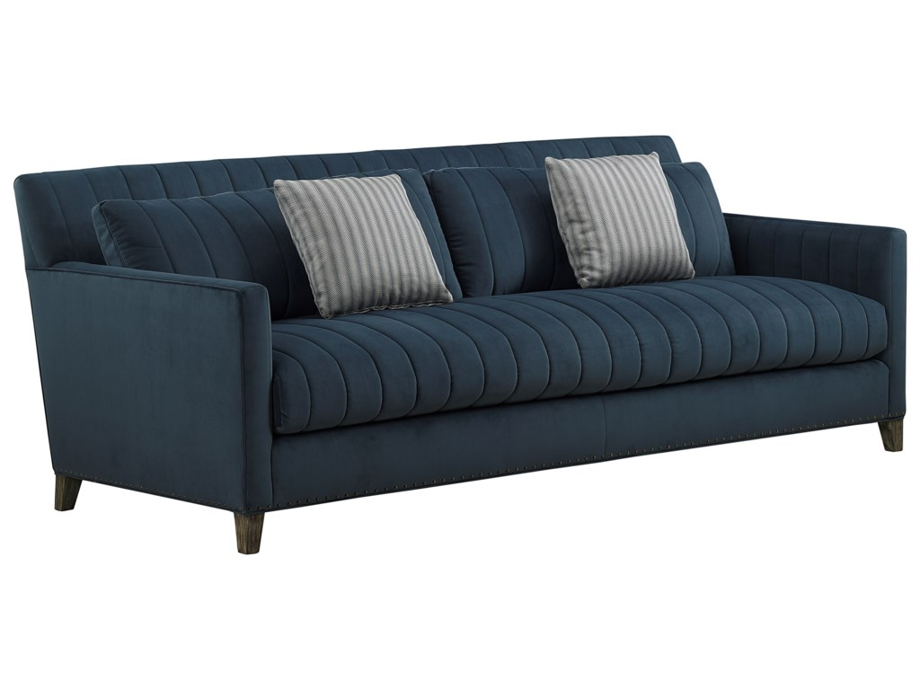 A.R.T. Furniture Inc Relaunch UpholsteryPierre Indigo Sofa