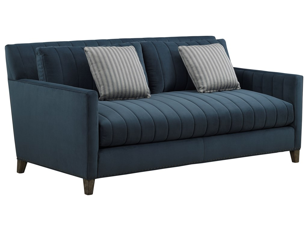 A.R.T. Furniture Inc Relaunch UpholsteryPierre Indigo Studio Sofa
