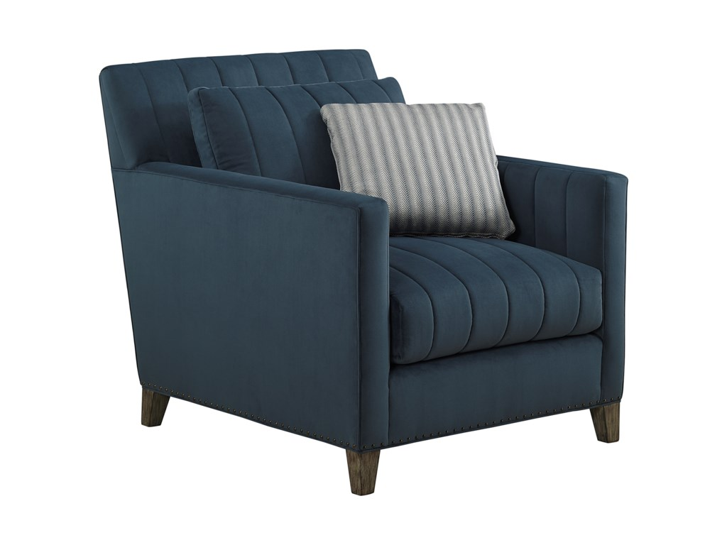 A.R.T. Furniture Inc Relaunch UpholsteryPierre Indigo Chair