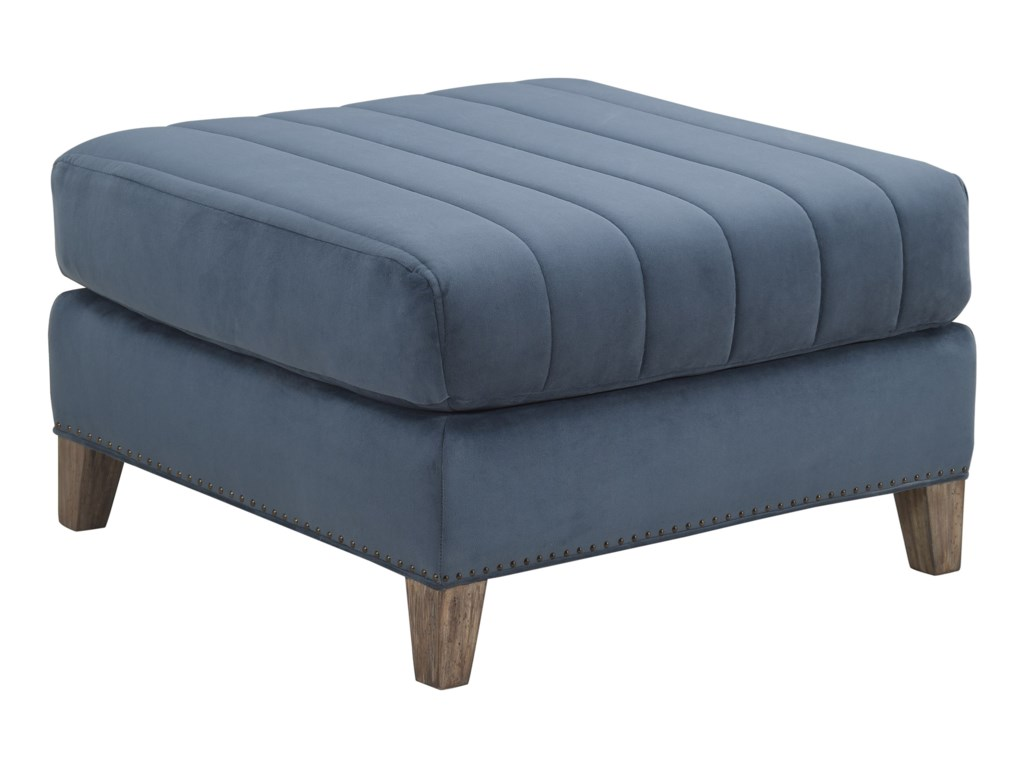 A.R.T. Furniture Inc Relaunch UpholsteryPierre Indigo Ottoman