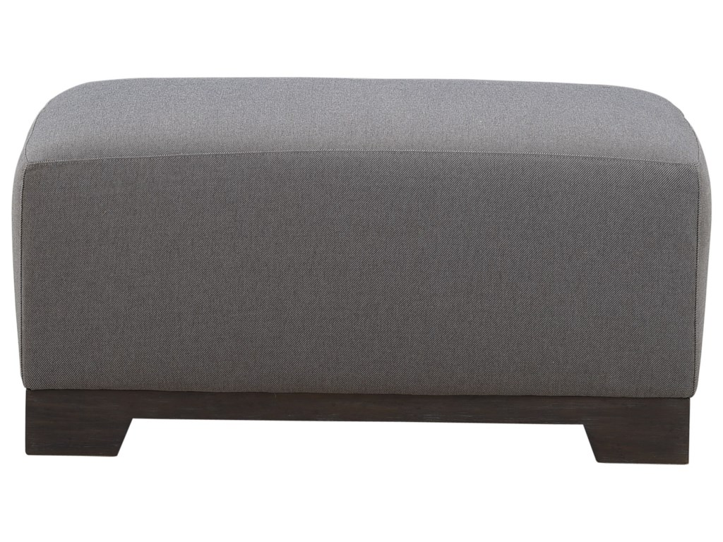 A.R.T. Furniture Inc Relaunch UpholsteryBrannon Tweed Ottoman