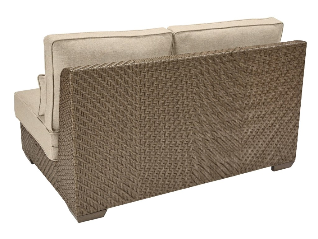 The Great Outdoors 933-Arch SalvageLeft Arm Facing Loveseat