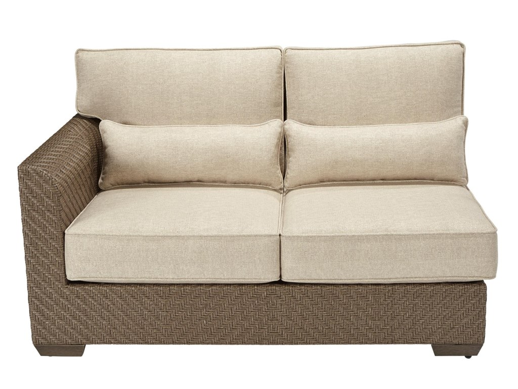 A.R.T. Furniture Inc 933-Arch SalvageLeft Arm Facing Loveseat