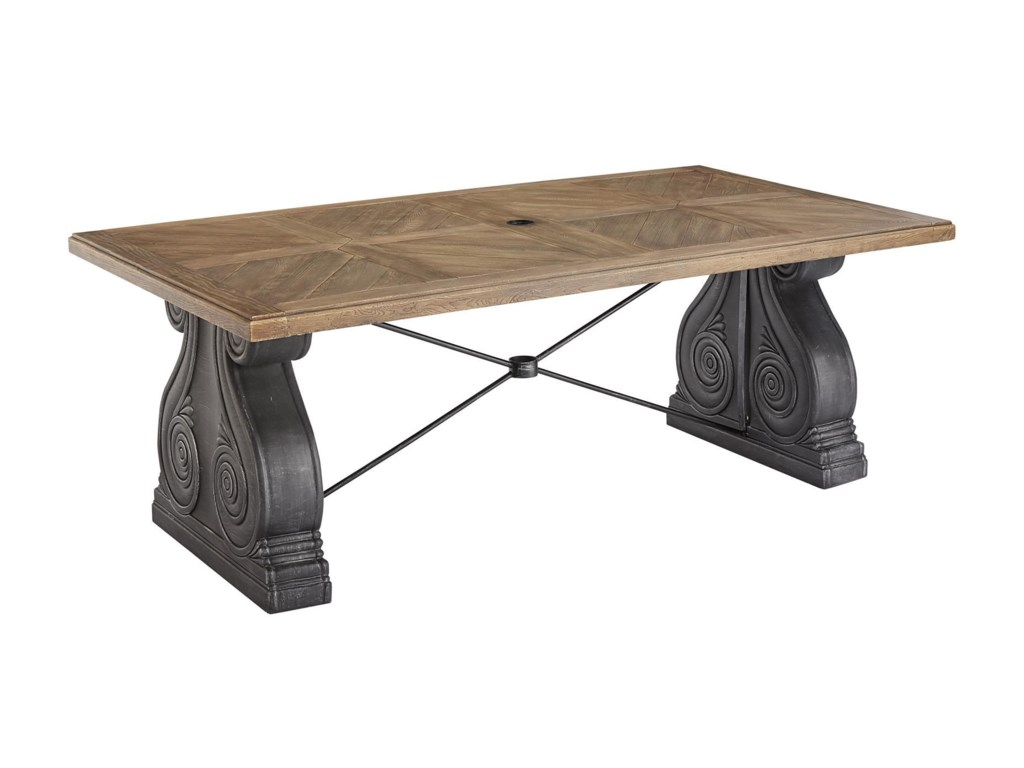 A.R.T. Furniture Inc 933-Arch SalvageDining Table