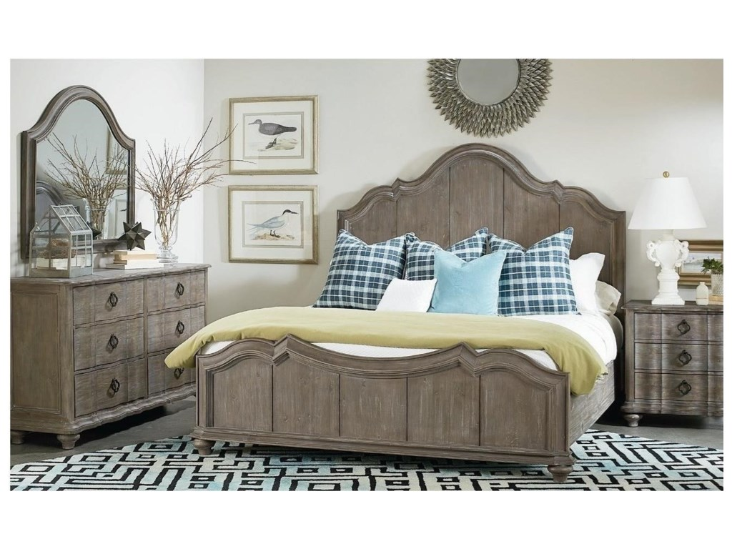 A.R.T. Furniture Inc AllieCalifornia King Panel Bed