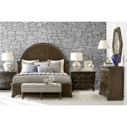 A.R.T. Furniture Inc American Chapter King Bedroom Group