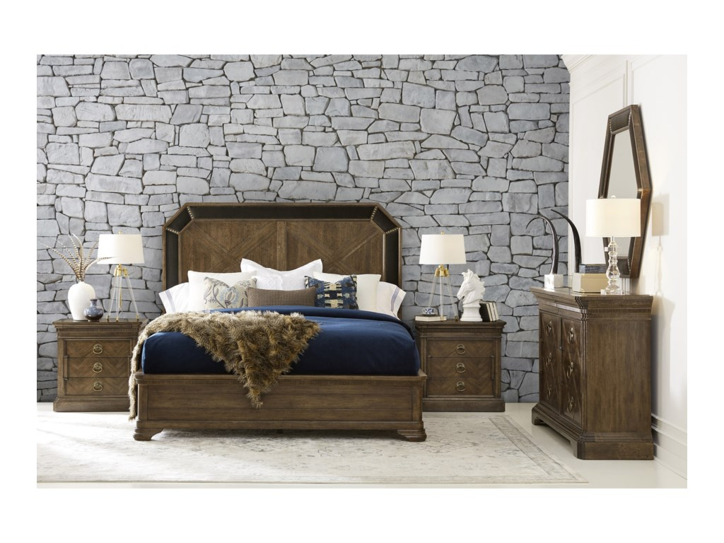 A.R.T. Furniture Inc American ChapterCalifornia King Bedroom Group