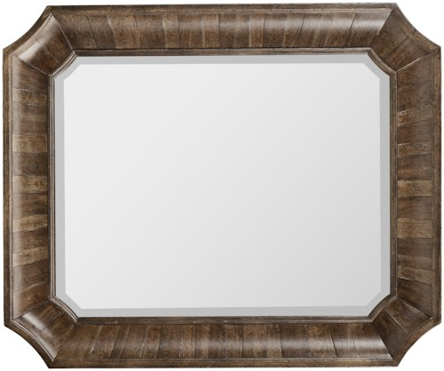 A.R.T. Furniture Inc American Chapter Barrel Stave Mirror