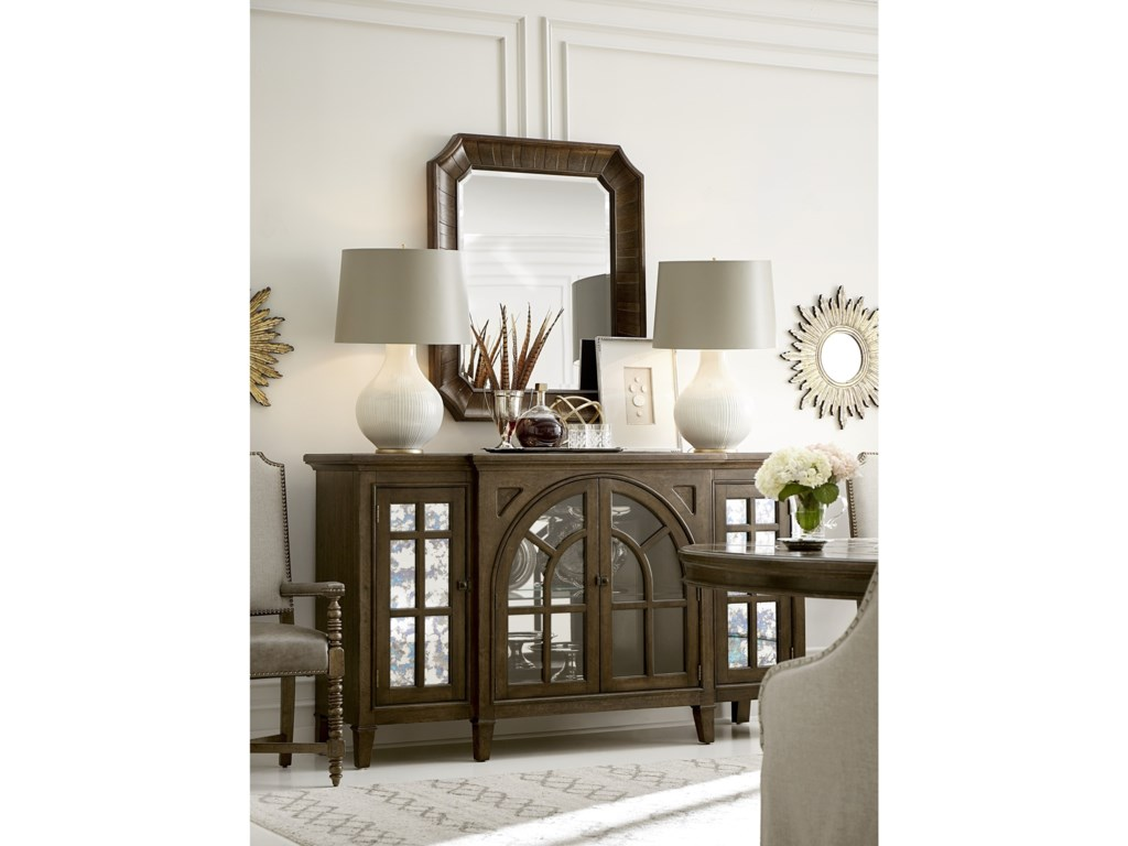 A.R.T. Furniture Inc American ChapterBarrel Stave Mirror