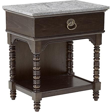 Copperline Bedside Table