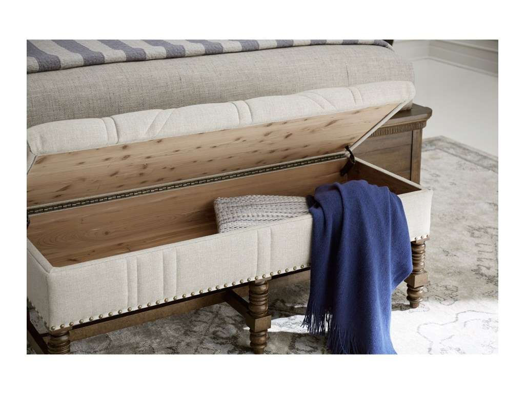Klien Furniture American ChapterStitch Storage Bench