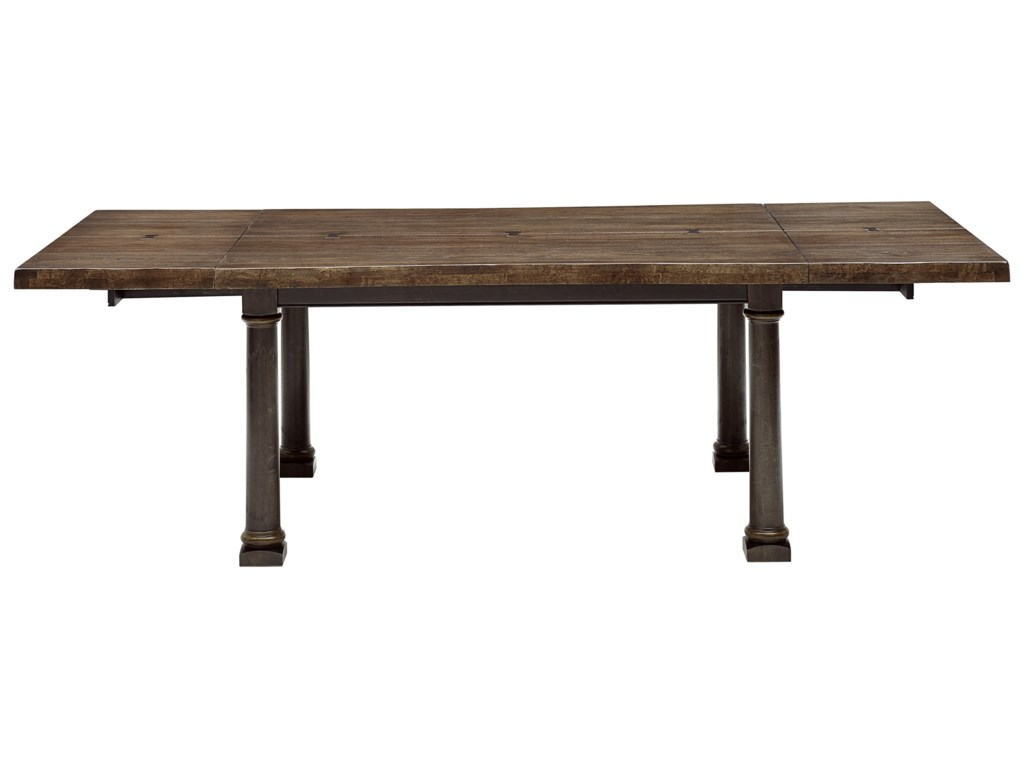 A.R.T. Furniture Inc American Chapter7-Piece Live Edge Dining Table Set