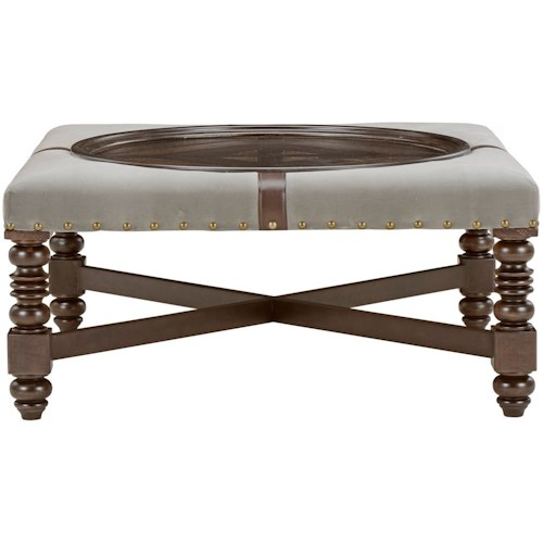 A.R.T. Furniture Inc American Chapter Winners Circle Cocktail Ottoman