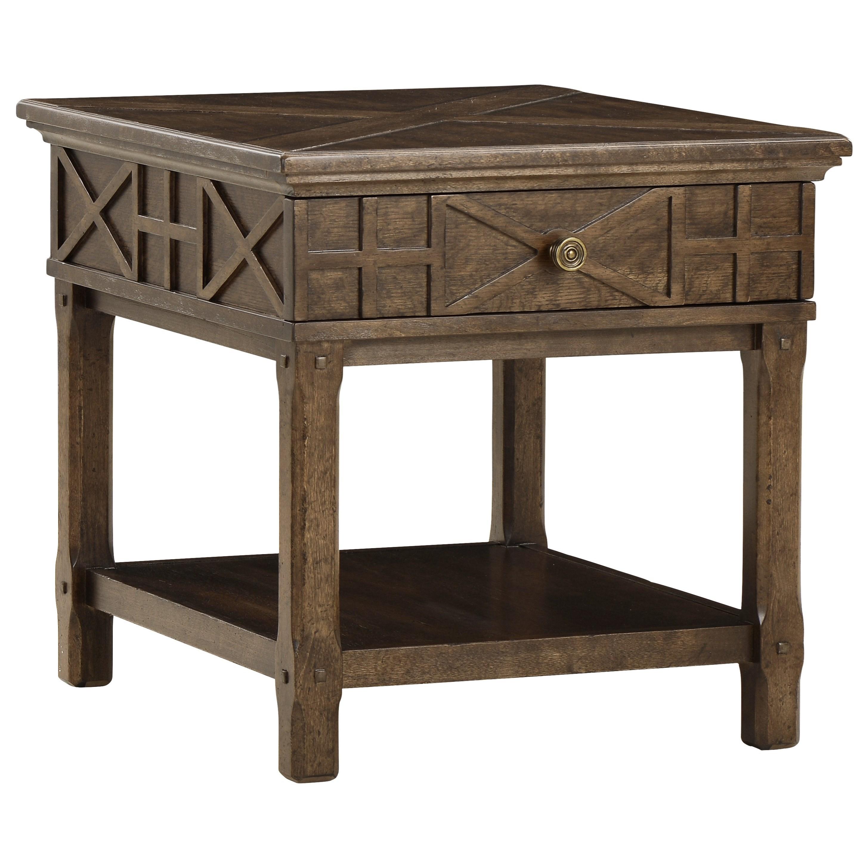 Credenza Per Veranda : A r t furniture inc american chapter veranda drawer end table
