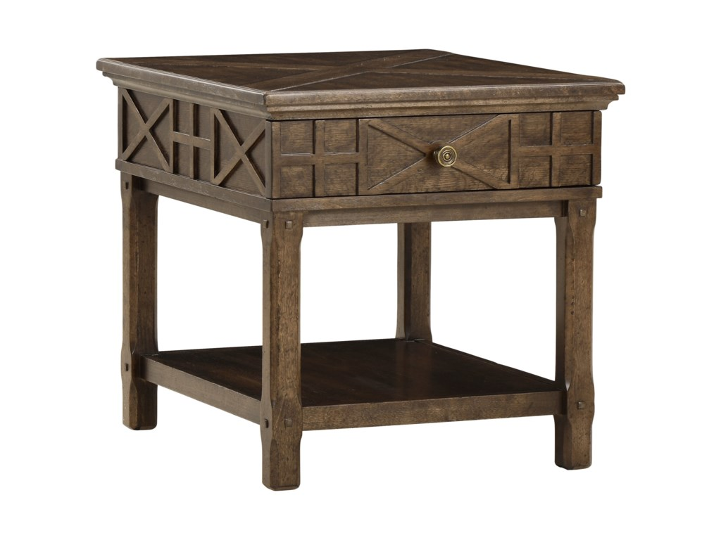 The Great Outdoors American ChapterVeranda Drawer End Table