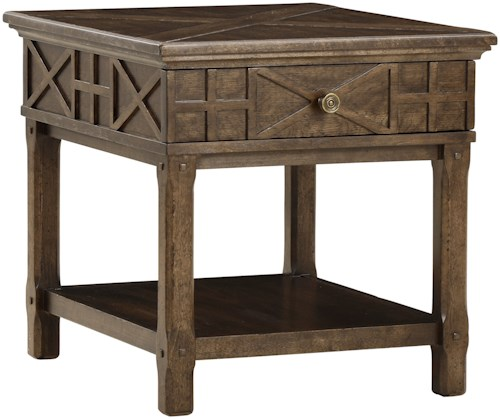 A.R.T. Furniture Inc American Chapter Veranda Drawer End Table