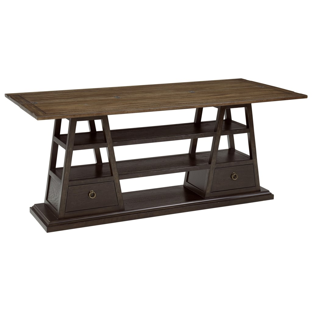 A R T Furniture Inc American Chapter 247307 2940 Live Edge Flip Top