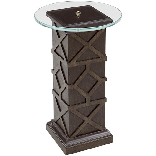 A.R.T. Furniture Inc American Chapter Quarter Pole Spot Table