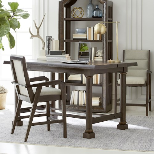 A.R.T. Furniture Inc American Chapter 3-Piece Live Edge Activity Table Set
